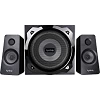 Infinity (JBL) Hardrock 210 Deep Bass 2.1 Channel Multimedia Speaker (100 Watts Peak Output)