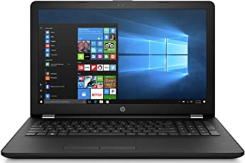 HP 15-bs675tx 15.6 inch HD Laptop (7th Gen i3-7020U/4GB DDR4/1TB HDD/Win 10/Fast Charge/AMD Radeon 2GB Graphics) Sparkling Black