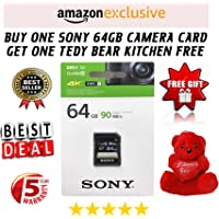 Sony 64GB UHS-1 CLS 10 SDXC UY3 Series 90 Mbps Memory Card (SF-64UY3/T in)