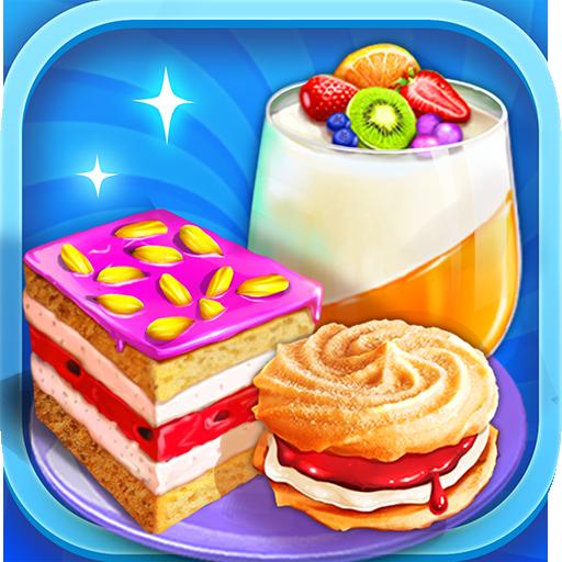 Unicorn Desserts Chef - Make & Cook Rainbow - Für Maker Cookie Kids