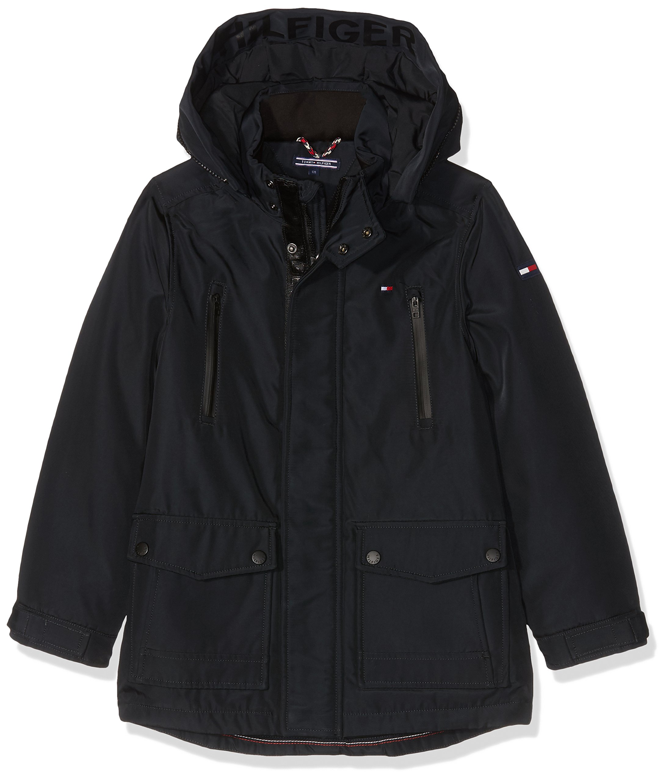 Tommy Hilfiger Thkb Technical Thermore Parka Chaqueta para Niños