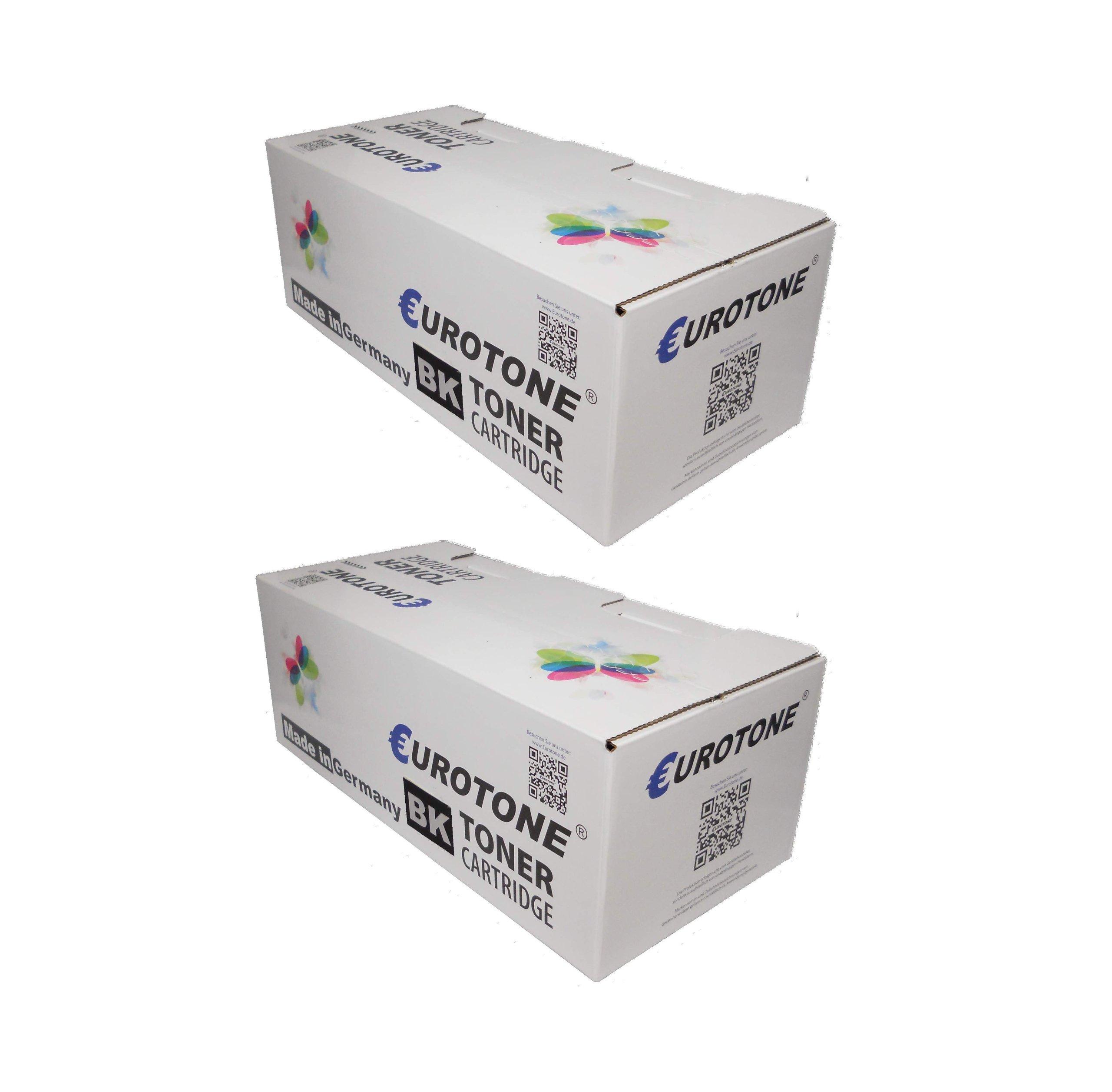 2x Eurotone Toner cartucce per Samsung ProXpress C2670FW /SEE und C2620DW /SEE sostituito NERO CLT-K