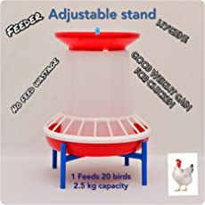 Praish with Stand and Grill and 2.5kg Chick Feeder