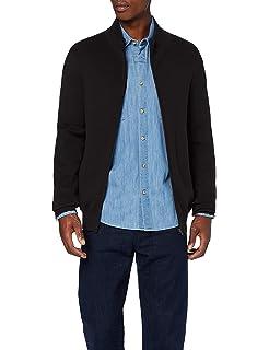 Bench Men's Zip Through Hoody, Black