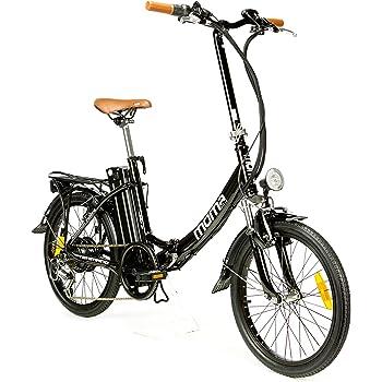 """Moma e-Bike 20"""" Bicicletta Elettrica Pieghevole SHIMANO, ruota da 20"""", Alluminio, Battería Ion-Litio 36V 16Ah"""