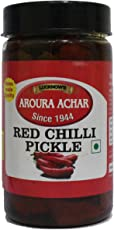 Aroura Achar Red Chilli Pickle_200 Grams