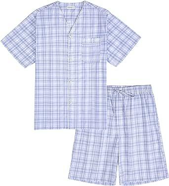 TONY /& CANDICE Herren Satin Schlafanzughose Lang Pyjamahose Nachtw/äsche Hose