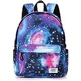 Mochilas Galaxy para niños y niñas, impermeables, duraderas, mochila básica informal para estudiantes