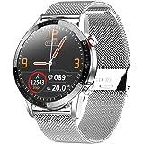 Smartwatch Orologio Fitness Uomo Donna Impermeabile IP68 Smart Watch Cardiofrequenzimetro da Polso Contapassi Smartband Activ