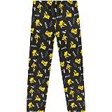 Pokèmon Pijama Niño, Pantalones Largos Pijamas Niños con Estampados de Pikachu, Ropa Niño 100% Algodon, Regalos para Niños y