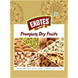 EXOTES Pista Roasted & Salted Vacuum Packed Popular Pouch, 500 g
