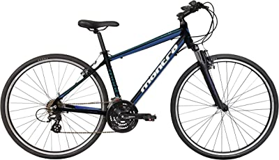 Montra Blues 1.1 700CT 21 Gear Aluminum-Alloy Hybrid Cycle (Black||Blue) 17inch Frame