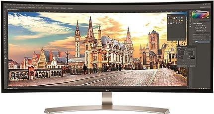 LG IT Products 34UC99-W 86,4 cm (34 Zoll) Curved Monitor (IPS-Panel, AMD FreeSync, Höhenverstellung, USB-C) schwarz