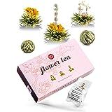 Theebloemen cadeauset – thee cadeau in mooie presentatiedoos – een stijlvol cadeau voor vrouwen – elke theebloem een prachtig