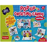 Funskool Handy Crafts Pop Up Greeting Cards, Multi Color