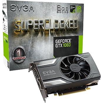 EVGA Geforce GTX 1060 SC Gaming GeForce GTX1060 Graphic Card 6144 MB