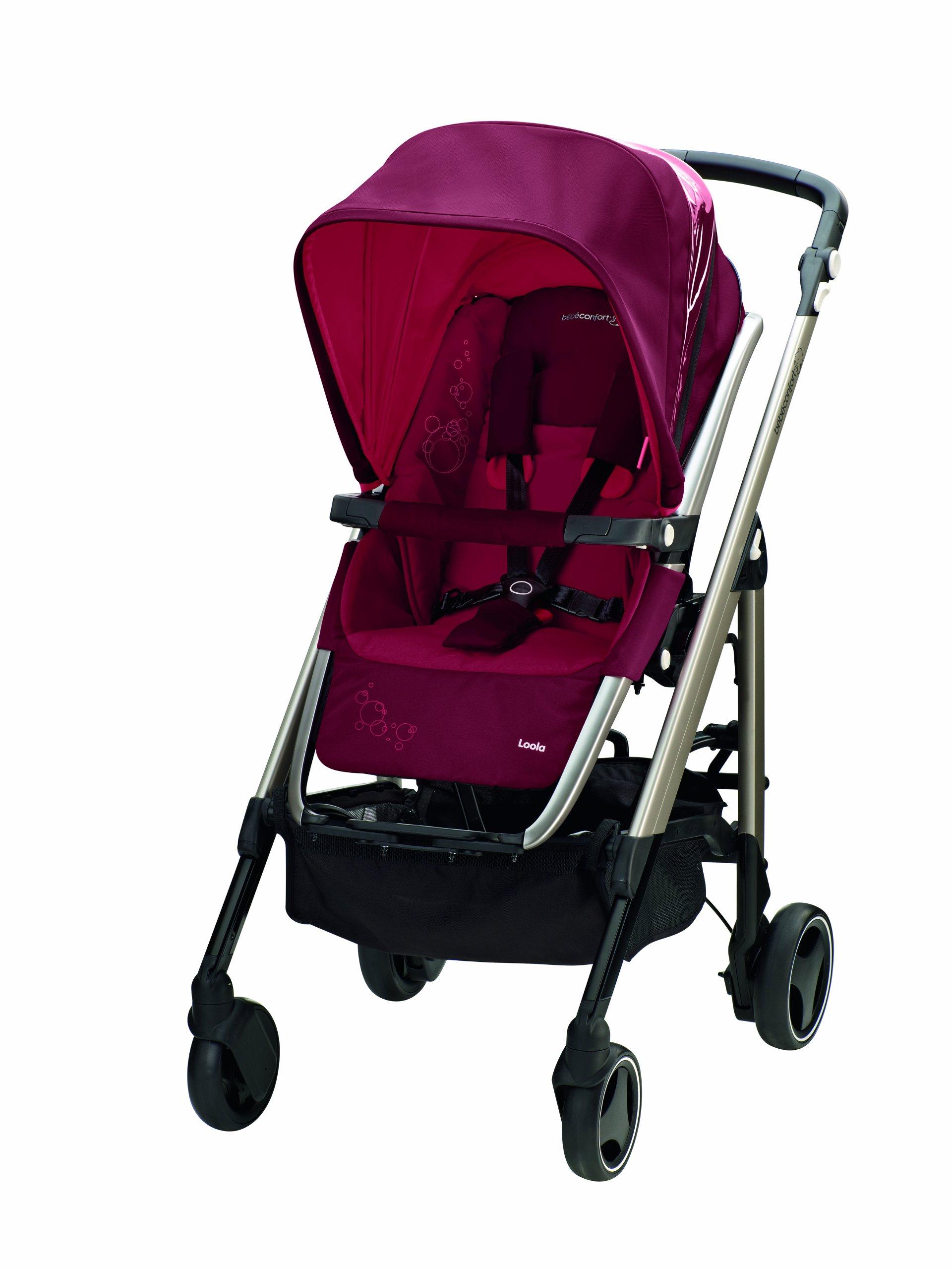 Bébé Confort 13828140 New Loola Passeggino Modulare, Raspberry Red