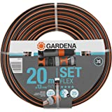 """GARDENA Comfort FLEX slang 13 mm (1/2"""") 20 m, met Original GARDENA System onderdelen: Vormvaste, flexibele tuinslang met Powe"""