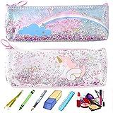Étui à Crayons Imperméable Licorne Pour Enfant Trousse à Crayons Multifonction Licorne Étuis Crayons Dessins Animés Boîte Cra