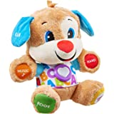 fisher-price Smart Stages Puppy, Laugh and Learn, Soft Educational Electronic Toddler Learning Toy with Music and Songs, Suit