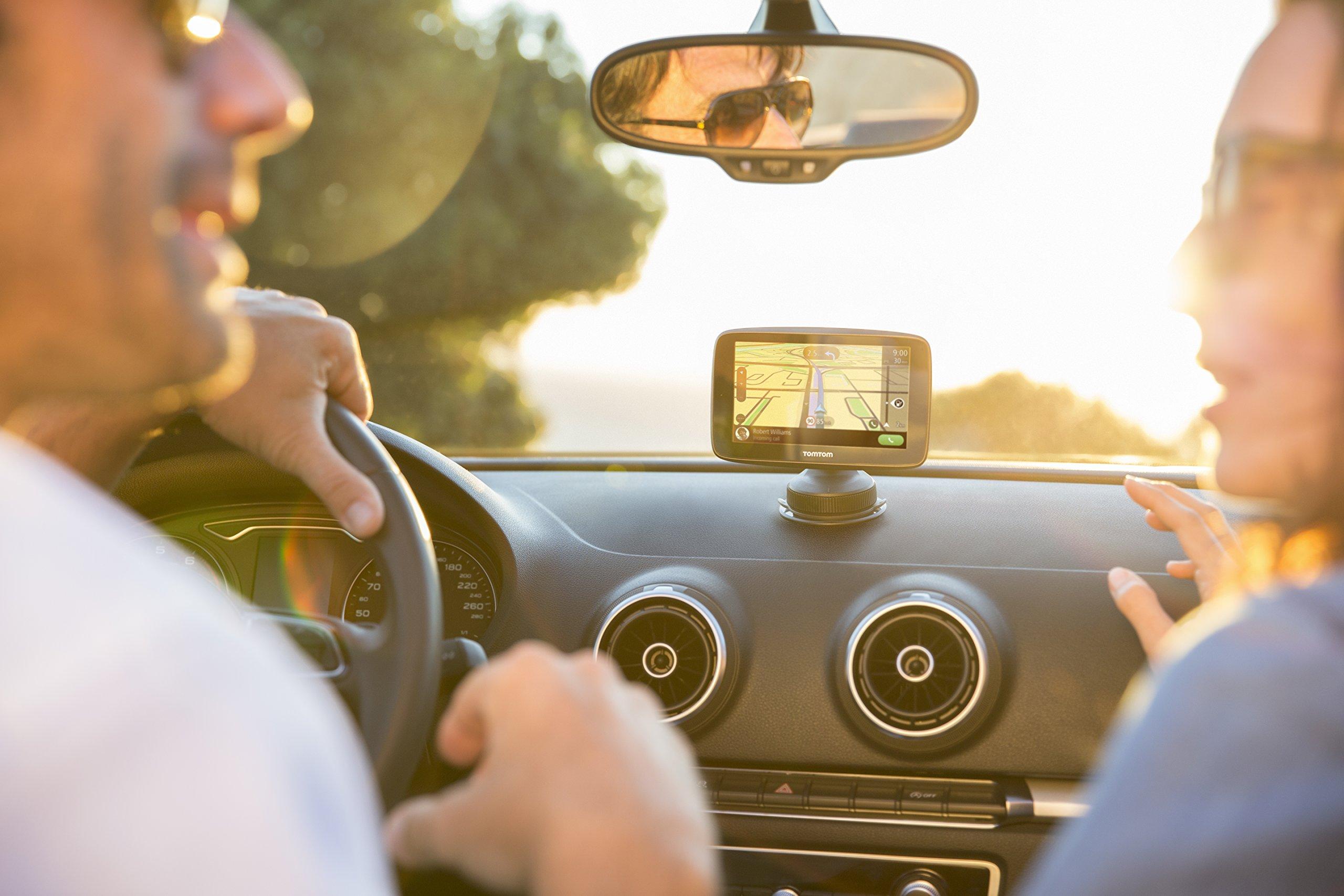 TomTom-GO-6200-World-Navigationsgert-6-Touchscreen-Flash-BatterieAkku-Zigarettenanznder-USB-interne
