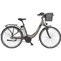 Telefunken E-Bike Damen 28 Zoll Elektrofahrrad - 3-Gang Shimano Nabenschaltung, Pedelec Citybike Alu mit Mittelmotor…
