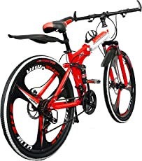 Foldable Adventure Sports MTB Cycle with 21 Shimano Gears
