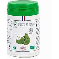 Ginkgo Biloba bio   60 gélules   Complément alimentaire   Mémoire - Démence - Vertige   Bioptimal - nutrition naturelle   Fabriqué en France   Certifié par Ecocert   Satisfait ou Remboursé 30 jours