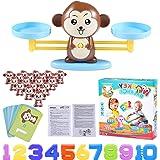 Funmo Juguete Animal Balanza, Monkey Balanza De Equilibrio, Balanza Digital De Mono, Niños Educación Temprana, Herramienta de