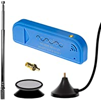 NESDR Mini 2+ 0,5PPM TCXO RTL-SDR- und ADS-B-USB-Empfängerset mit Antenne, Saughalterung und Weiblichem SMA-Adapter…