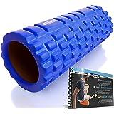 FIT NATION Fasciarol - Foam Roller Set voor zelfmassage met oefenboek - Sport massagerol voor beginners, professionals, dames