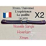 Xtrem 2 Sangles Universel Hoverkart pour Fixation Hover Go Kart Cart Hoverkart Hovercart Scratch Attache Hoverboard