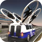 Fliegende Drohne Ambulanz