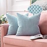 MIULEE Kussensloop, sierkussen, korrel, decoratieve kussenovertrek, kussenovertrek, sofakussen, decoratief, sofakussen, kusse