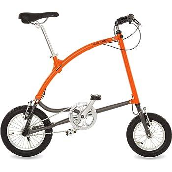 Ossby Arrow Bicicleta Plegable, Unisex Adulto, Naranja, Talla Única