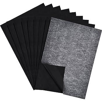 papier de transfert de carbone papier de tra age pour le bois tissu toile 9 par 13 pouces 60. Black Bedroom Furniture Sets. Home Design Ideas