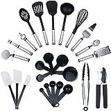 KRONENKRAFT Set d'accessoires de cuisine de 26 pièces , set de cuisson ,ensemble d' ustensiles de cuisine - Pour cuisiner pou