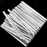 ABOAT Metalen neusstrip, aluminium neusdraad, verstelbare neusbrug strip voor het zelf maken van accessoires, naaiwerkjes
