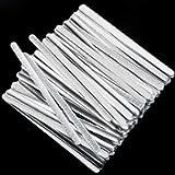 ABOAT Metal Nose Strip Aluminum Nose Wire Adjustable Nose Bridge Strip for DIY Making Accessories Sewing Crafts (50)