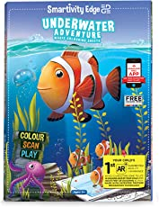 Smartivity Edge Underwater Adventure Augmented Reality Colouring Sheets