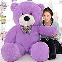 Lovebug Teddy Bears Cute Soft Plush Stuffed Animal Toy for Girl Women - 3 Feet (91 cm, Purple)