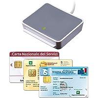 uTrust 2700 R Lettore per la Carta Nazionale e Regionale dei Servizi (CNS, CRS), Tessera Sanitaria, Codice Fiscale (TSN…