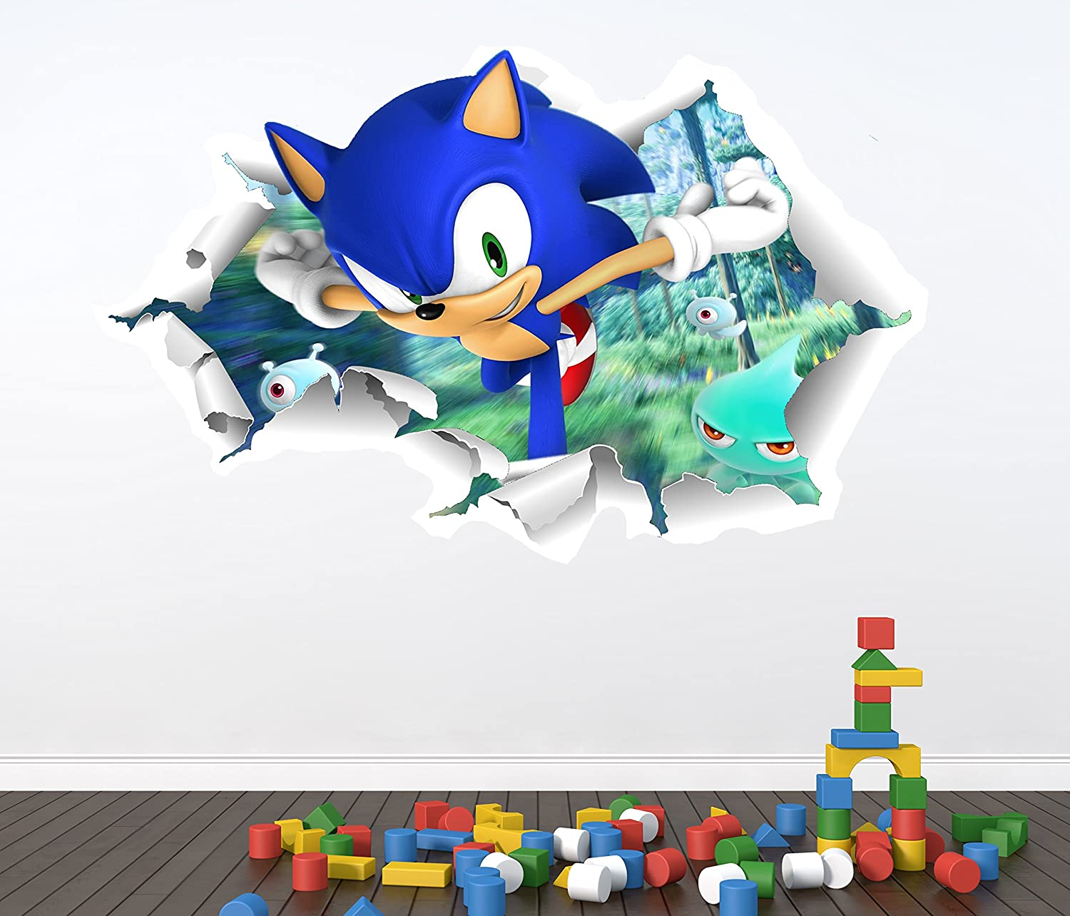 ... Amazing Sonic The Hedgehog Wall Stickers Awesome Ideas Pictures Gallery