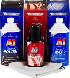 Dr Wack A1 Speed Polish Politur Speed Wax Plus 3 Wachs Ultima Show Shine Auto