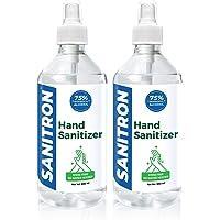 SANITRON Liquid Spray Hand Sanitizer - with 75% Isopropyl alcohol (IPA) - 500 ml *2 (1 litre)