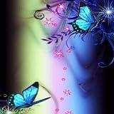 Blue Rainbow Butterflies Live Wallpaper