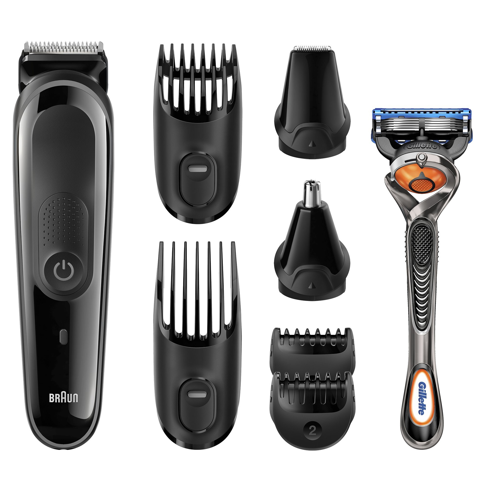 braun mgk3060 grooming kit 8 in one beard hair trimming kit fusion proglide ebay. Black Bedroom Furniture Sets. Home Design Ideas