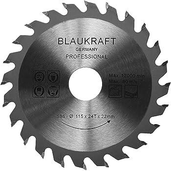 Lame de scie pour meuleuse d angle 115mm pour bois Disques de coupe  Circulaire 115x22x24T 45b75e54d690