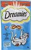 Dreamies Katzensnack Snack mit Lachs, 60g