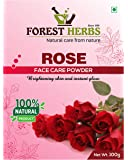 Forest Herbs 100% Natural Organic Rose Petal Powder For Skin, Face Pack Mask for Fairness, Tanning & Glowing Skin…